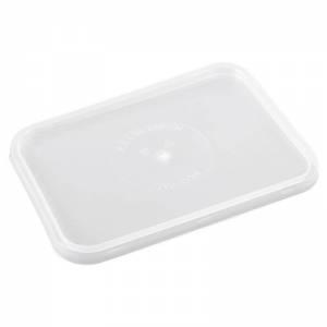 tapadera de plástico rectangular