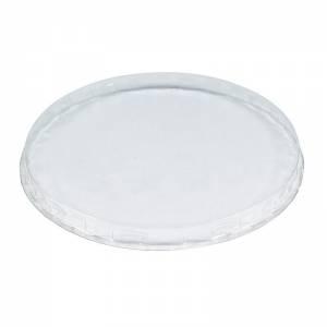 tapadera redonda de plástico para postre de 135cc