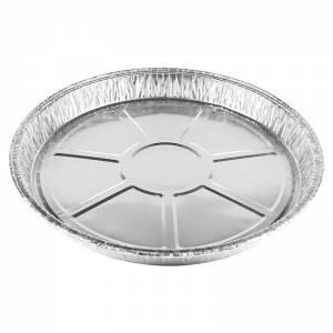 plato de aluminio de 24cm de diámetro para tortilla de 915cc