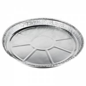 plato de aluminio de 27,8cm de diámetro para tortilla de 1115cc