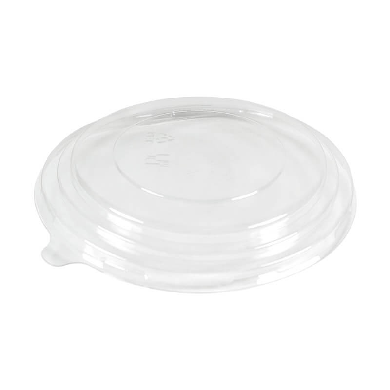tapadera para ensaladeras, transparente de pet para alimentos frios