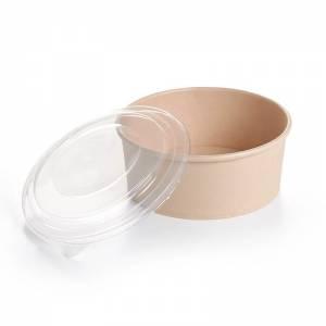 envase con tapadera transparente de pet para alimentos frios