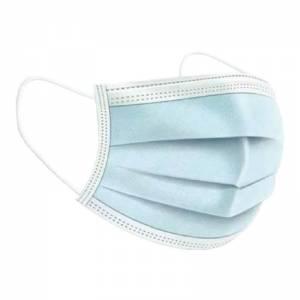 mascarilla higiénica de 3 capas, no reutilizable