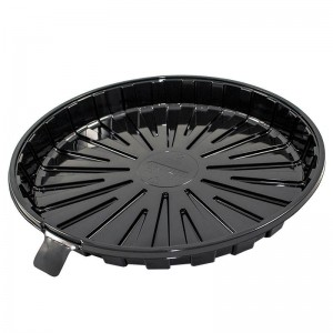 base redonda de 16cm de pet negro para tartas