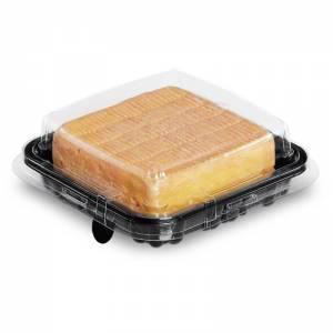envase pequeño pastelería cuadrado premium