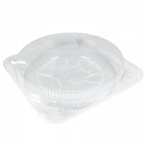 envase para pastelería de ops transparente redondo