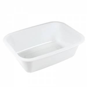bandeja termosellable 1/8 gastronorm de pp blanco altura 5cm