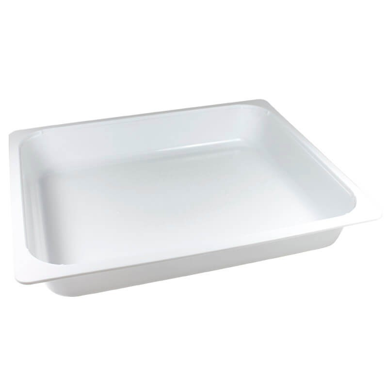 bandeja termosellable 1/2 gastronorm de pp blanco altura 5cm