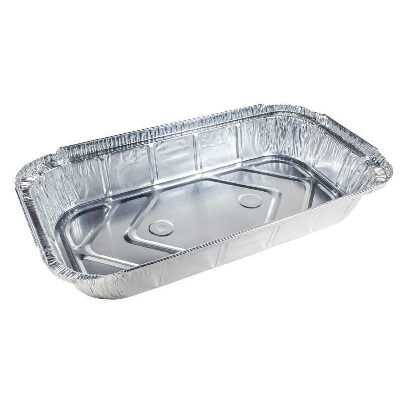 envase de aluminio rectangular de 32x17x4.3cm