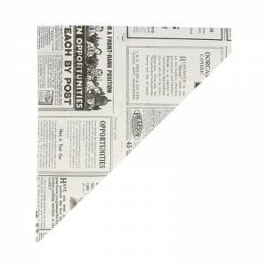 cono de papel de 24x17cm ideal para tatas fritas y churros