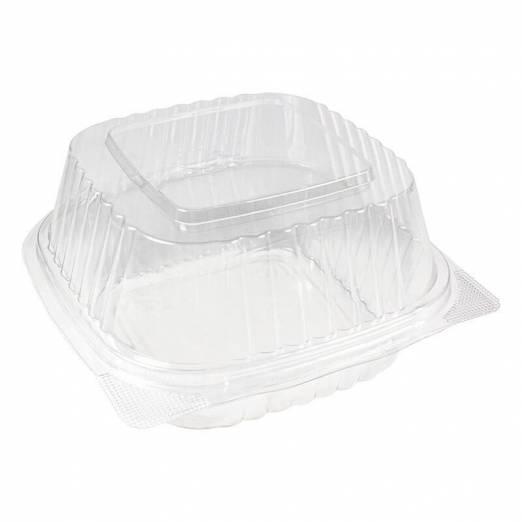 envase para hamburguesa de ops transparente