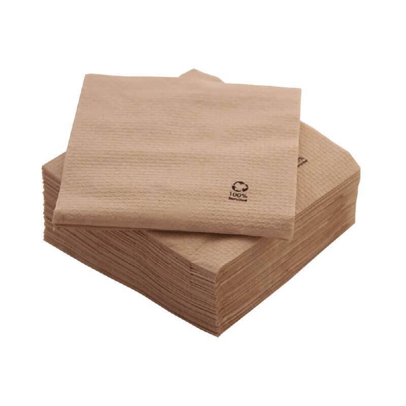 servilletas bio-eco de 33x33 de 1 capa