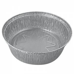 envase desechable de aluminio redondo para pollo asado