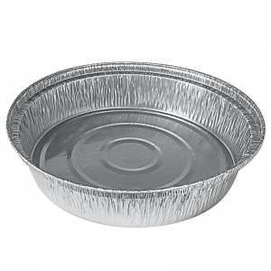 envase de aluminio redondo para medio pollo asado