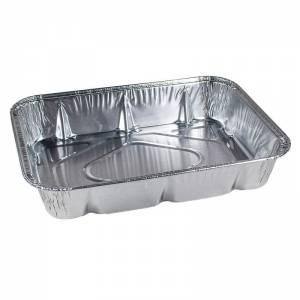 envase de aluminio de ración invididual de 624cc