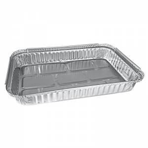 envase rectangular de aluminio para paletillas y cochinillos de 1936cc