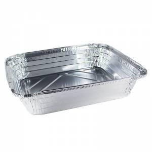 bandeja de aluminio rectangular para asados, paletillas, etc de 3500cc
