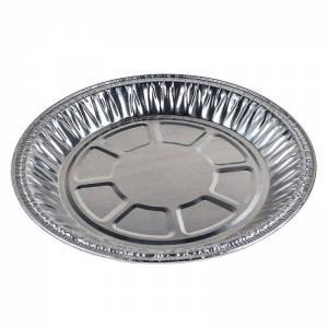 plato de aluminio de 20cm de diametro para empanada