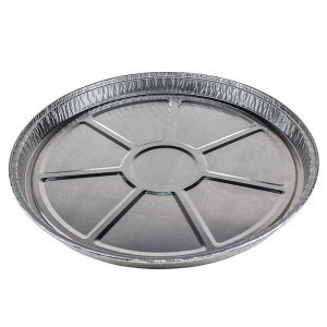 plato de aluminio de 22cm de diámetro para tortilla