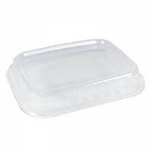 Tapadera de polipropileno transparente para envases de termosellar