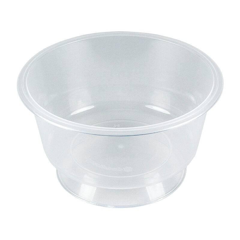 copa para postres de plástico transparente de 140cc