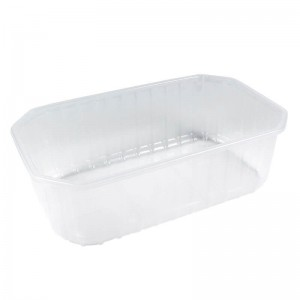 cesta de plástico para fruta de 500cc