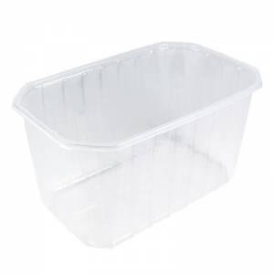 cesta de plástico para envasar fruta natural, de 1000cc