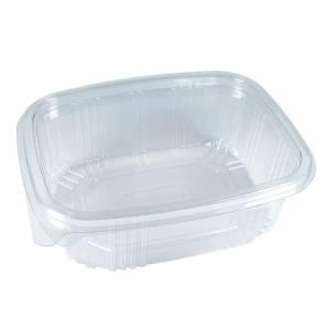 envase de plástico con cierre de bisagra de 750cc para uso frío