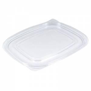 tapadera de plástico ops transparente rectangular