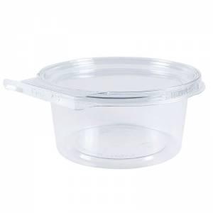envase de plástico con cierre de seguridad redondo de 350cc