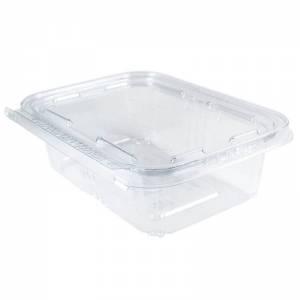 envase rectangular de 750cc de pet transparente con cierre de seguridad