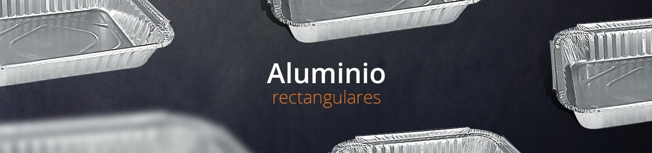 Envases de Aluminio Rectangulares en Murcia
