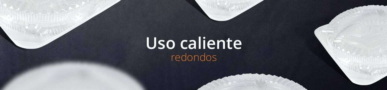 Envases para Uso Caliente de OPS Redondos en Murcia