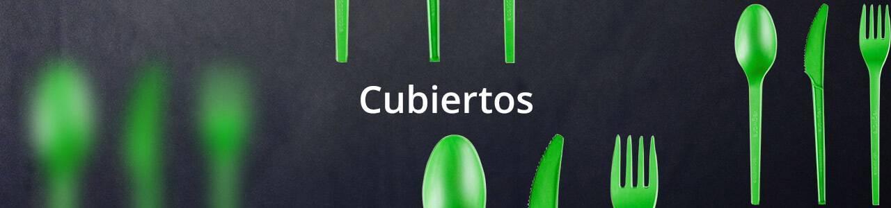 Cubiertos Desechables aptos para uso alimentario.