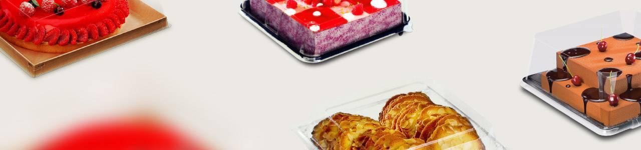 Envases para Pastelería y Repostería Cuadrados | Envases Take Away para Alimentación