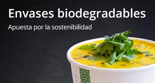 Envases biodegradables para take away
