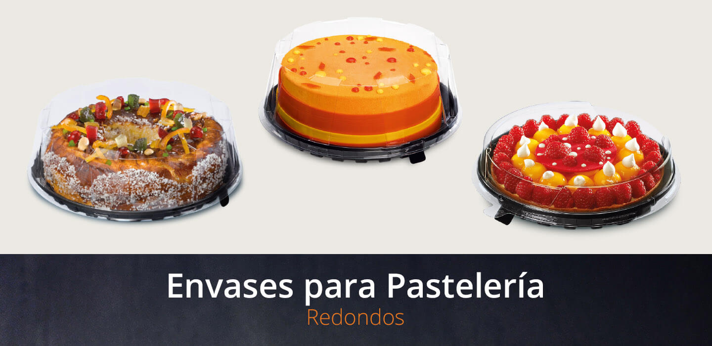 envases redondos para pastelería