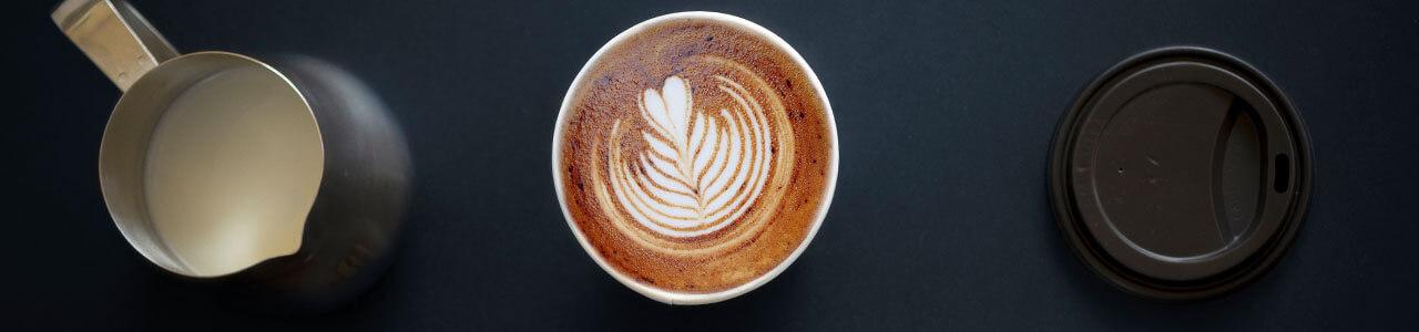 vasos de café para llevar