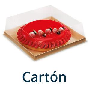 pastelería cartón