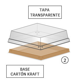 bases para cartón horneable